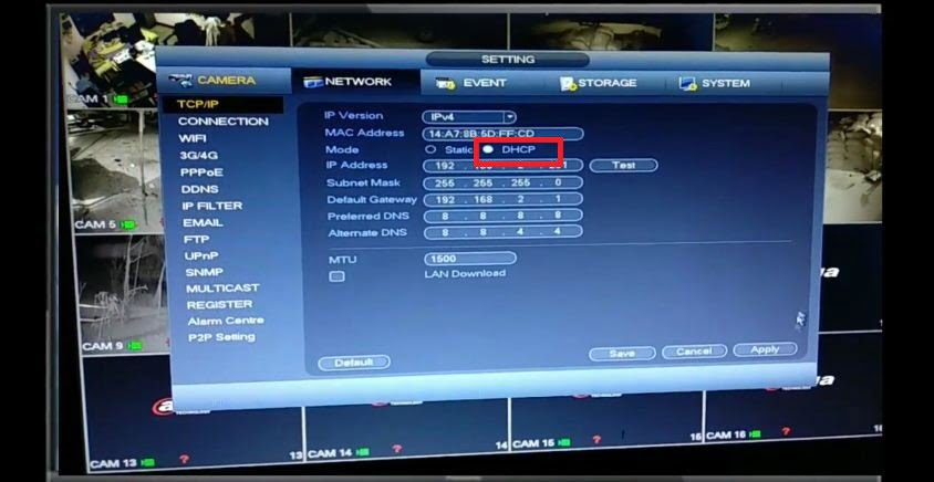 How to configure dahua DVR remotely (Mobile View)